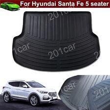 1 Leather Car Trunk Cargo Liner Mat Tray For Hyundai Santa Fe 2013-2018 5 seater