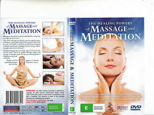 The Healing Powers of Massage and Meditation Doco DVD as R4