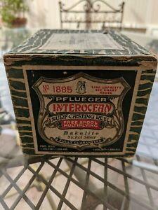 Vintage Pflueger Interocean Surf Casting Reel 1885 in Box
