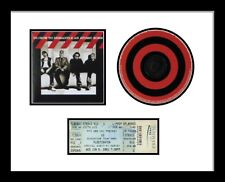 Concert Ticket, CD and Cover Picture Frame White Mount