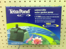 NEW - SUBMERSIBLE WATER GARDEN PUMP - FOR PONDS - FREE LOW CONTROL FOUNTAIN SET
