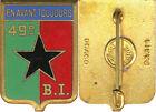 49° Bataillon d'Infanterie, avec sigle, émail, dos lisse, Drago (466)(2973)