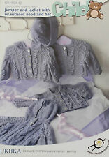 Baby Knitting Pattern DK   -   UKHKA 42