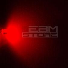 50 pz led FLAT TOP rossi alta luminosità 5.000 mcd 5 mm - ART. AH05