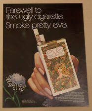 A 1971 MAGAZINE AD FOR EVE FILTER CIGARETTES