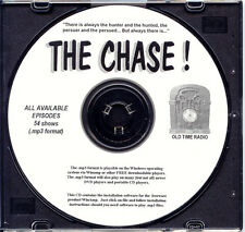THE CHASE - 54 Shows Old Time Radio In MP3 Format OTR 1 CD