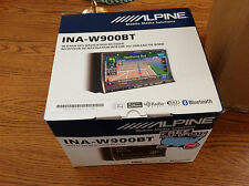 "ALPINE iNA-W900BT 7"" MULTIMEDIA GPS TOUCHSCREEN DVD/CD/USB RECEIVER- NIB!!!"