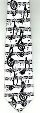 Black Clefs and Music Tie
