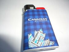 """Novelty """" CANADIAN CLASSIC"""" Cigarette Lighter (NEW)"""