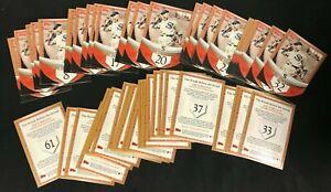 2007 JOE DIMAGGIO *STREAK BEFORE THE STREAK BASEBALL CARD SET (54/61) 112320