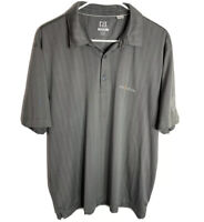 Cutter and Buck men's short sleeve polo golf shirt TPC the players gray XL