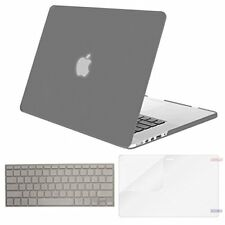Macbook Pro 13 Inch Protective Shockproof Rubber Screen Protector Cover Grey