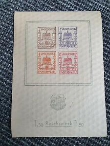Block Finsterwalde 1,50 Reichsmark