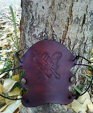 Archery Bracer/ Arm Guard Handcrafted USA, Warriors Cross Design