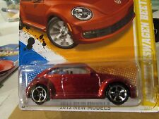 Hot Wheels 2012 Volkswagen Beetle 2012 New Models Red