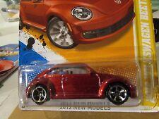 Hot Wheels 2012 Volkswagen Beetle 2012 New Models Red