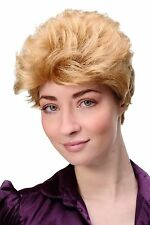 Wig Me up Women's Wig Wig Short Hairdo Backcombed Blonde Gfw1645