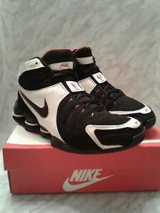 Nike Shox Flight VC 5 Vince Carter Black White mens Size 8.5 women 10 312764 001