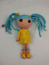 """2010 Lala Loopsy silly hair 12"""" doll with yellow dress and shoes"""
