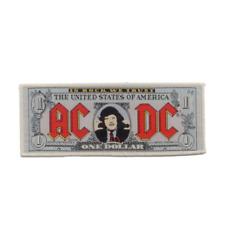 AC/DC official patch Money accessible/billet Courroies écusson Rock N Roll ACDC