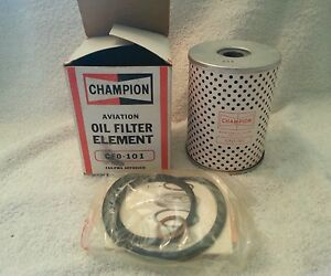 New Champion Aircraft Oil Filter P/N CFO-101
