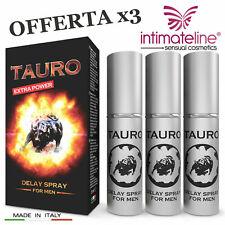 Intimateline Tauro Extra Power Delay Spray x3 - Ritardante eiaculazione precoce