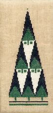 Stacked Santas - Christmas Trees or Santas? - Counted Cross Stitch Chart