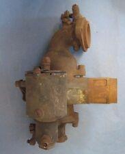 Old brass Detroit Lubricator carburetor appears complete