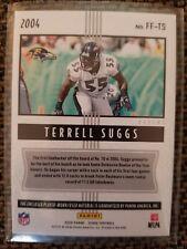 Terrell Suggs - Jersey Patch Card Score 2020 - Freshman Flashbacks - Ravens