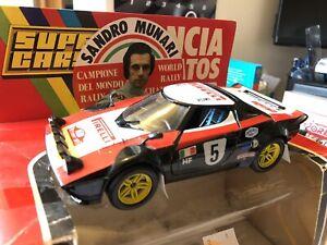 Polistil Lancia Stratos 1/25 Sandro Munari Pirelli rally car BOXED
