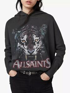 BNWT AllSaints Tiger Xonda Oversized Hoodie Size XS