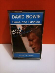 CASSETTA LONG TAPE DAVID BOWIE FAME AND FASHION VINTAGE