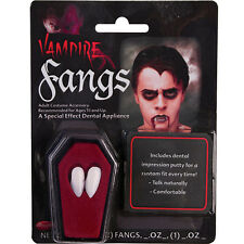 HALLOWEEN VAMPIRE FANGS CAPS TEETH MAKE UP DRACULA ADULTS FUN TIMES FANCY DRESS