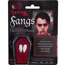 HALLOWEEN VAMPIRE FANGS CAPS TEETH MAKE UP DRACULA ADULTS FUN TIMES FANCY DRESS