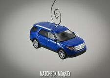 2013 Ford Explorer SUV Crossover Custom Christmas Ornament 1/64 Adorno Badge '15