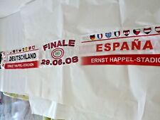 Germany vs Spain :  UEFA Euro 2008 Final -  Sciarpa , Scarf, Bufanda