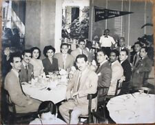 Havana/Habana, Cuba 1940s 8x10 Restaurant Photograph, Black & White People