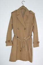 ** SUPERBE ** A.P.C (APC) femme classique long Trench Coat Large UK12-14