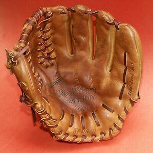 "Spalding 42-121 Jim Bunning Personal Model Baseball Glove T-Bar Web USA 11"" RHT"