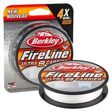 Berkley Fireline Ultra 8 Carrier / Crystal - Smoke - Green / Fishing Braid