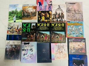 KPOP IDOL BOYS, GIRLS GROUP PROMO ALBUM Autographed ALL MEMBER Signed #0927