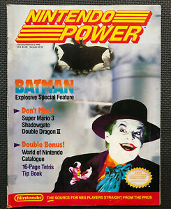 Volume 10 Nintendo Power video gaming magazine back issue Jan-Feb 1990