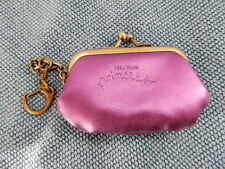 Vera Wang princess coin purse, dark purple metallic