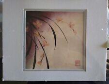 Don Li-Leger Elegance II by Art Prints Inc Orchid  11x14 matted no frame