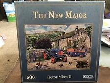 Gibsons 500 Piece Jigsaw Puzzle - THE NEW MAJOR