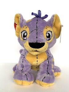 2005 Neopets 6.5'' KOUGRA PLUSHIE Plush Stuffed Purple Cougar w/ Tag