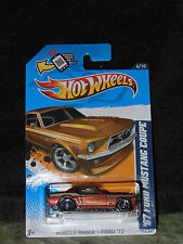 Hot Wheels '67 Ford Mustang Coupe Muscle Mania Ford '12