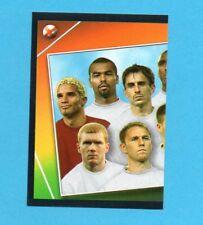 PANINI-EURO 2004-Figurina n.114-SQUADRA/TEAM-INGHILTERRA-SX-NEW BLACK