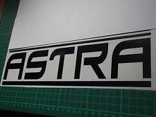 ASTRA panel skirt car vinyl sticker decal x2