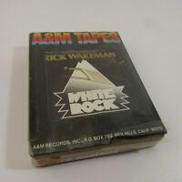 Rick Wakeman White Rock A&M Stereo 8 NEW Cartridge Sealed 8-Track Tape
